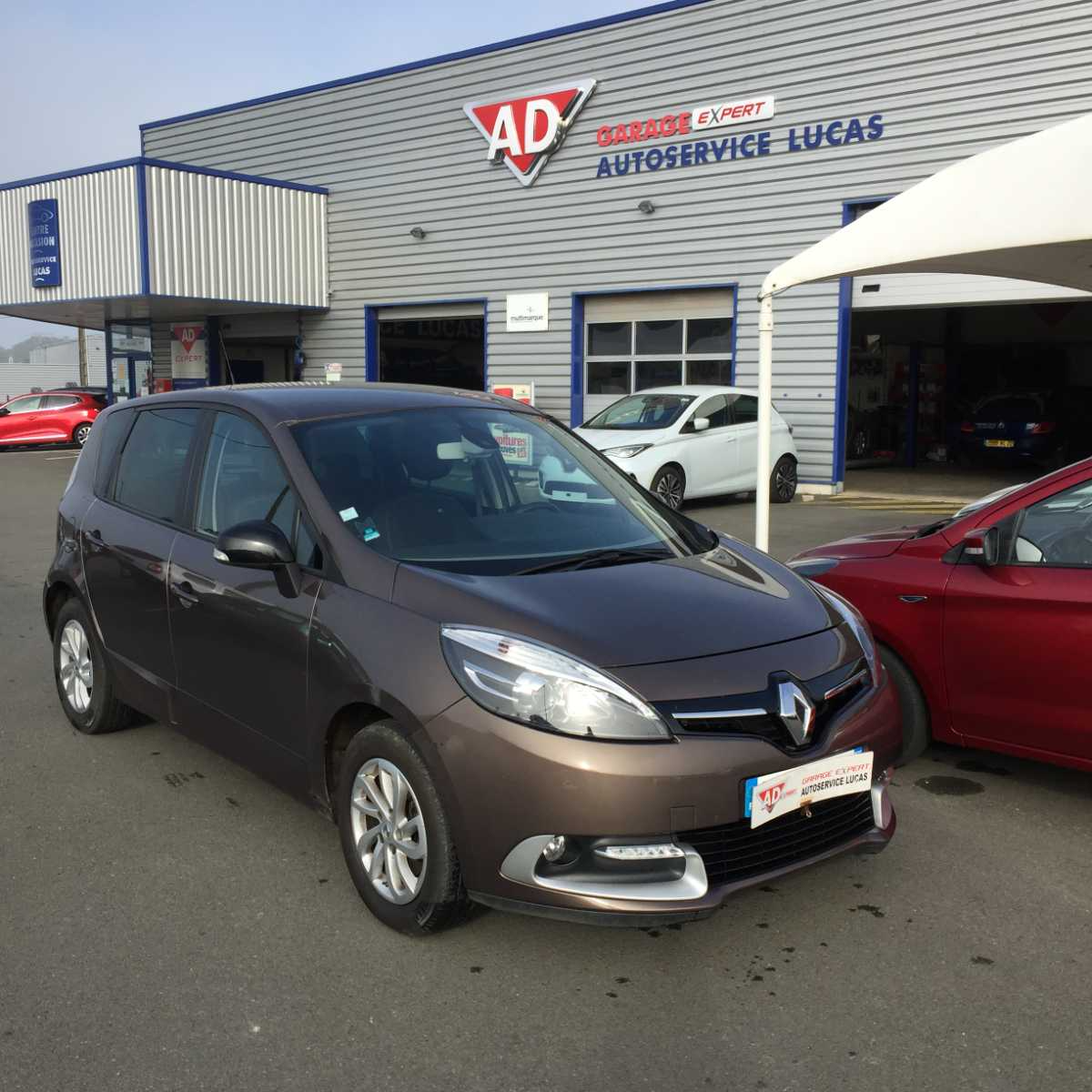 Renault Scenic 1.5 DCI 110 LIMITED occasion
